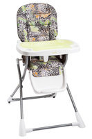 Evenflo Baby Compact Fold High Chair Zoo Friends