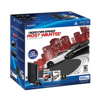 Sony 711719991335 99133 Playstation 3 250GB Holiday Bundle - Need For Speed: Most Wanted / Burnout Paradise