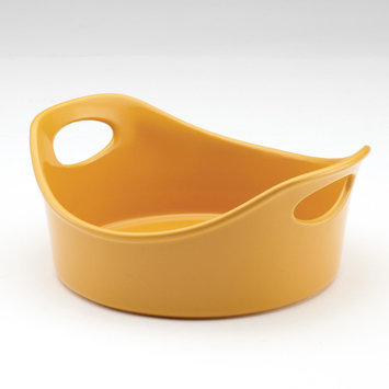 Meyer Corp. Rachael Ray Stoneware 1.5 qt. Open Baker - Yellow