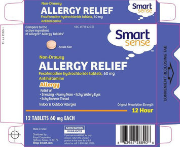 Smart Sense Fexofenadine Tablets 60 mg