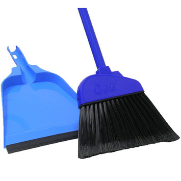 Quickie Mfg Dustpan/Angle Broom 725TRI by Quickie