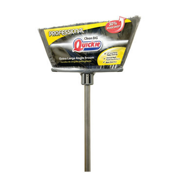 Quickie Mfg QUICKIE MANUFACTURING 754TRI All-Purpose Professional Broom