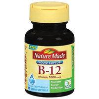 Vitamin B-12 1000 mcg, 60 Tablets, Nature Made