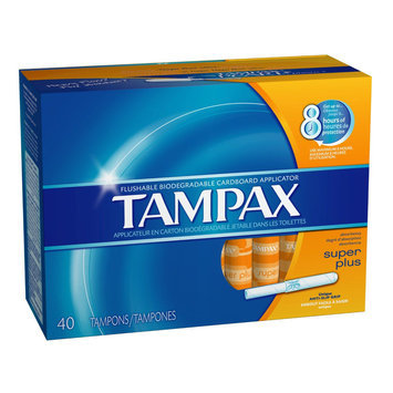 Tambrands Inc. Pearl Cardboard Super Absorbency Tampons
