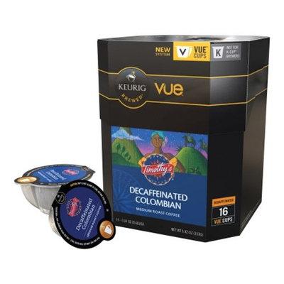 Keurig Vue Pack Timothy'S Decaffeinated Colombian Coffee - 16-Pk.
