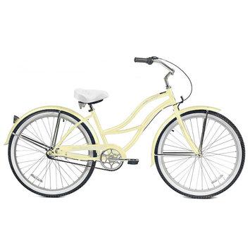 Micargi Bicycles Tahiti NX3 Beach Cruiser Bike - Vanilla