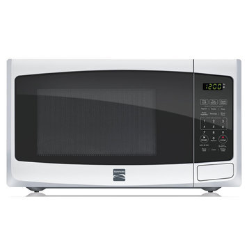 Kenmore 0.9 cu. ft. Countertop Microwave - White
