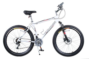 Taiwan New Idea Service Enter. Titan White Knight 21-speed All Terrain Mountain Bike
