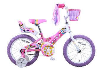 Taiwan New Idea Service Enter. Titan Girl's Flower Princess BMX Bike - Pink (16