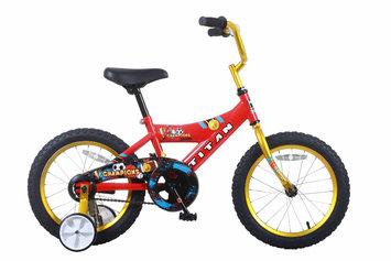 Taiwan New Idea Service Enter. Titan Champion 16-inch Red/ Gold Boys BMX Bike