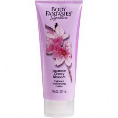 Parfums De Coeur BODY FANTASIES SIGNATURE JAPNESE CHERRY BLOSSOM FRAGRANCE MOISTURIZING LOTION 7 OZ.