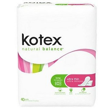 Kimberly-clark/household Products Div. Natural Balance Ultra Thin Long Pads