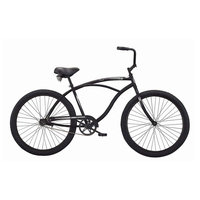 David Shaw Silverware Na Ltd Micargi Bicycles Touch Beach Cruiser Bike - Matte Black