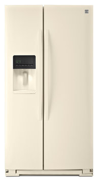 Kenmore 51134 26 cu. ft. Side-by-Side Refrigerator - Bisque