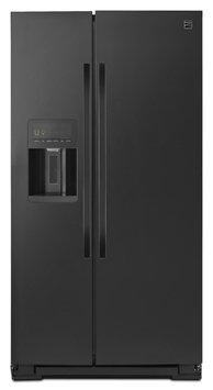 Kenmore 51139 26 cu. ft. Side-by-Side Refrigerator - Black