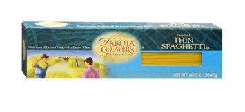 Dakota Growers Pasta Company Growers Pasta Thin Spaghetti 16 oz