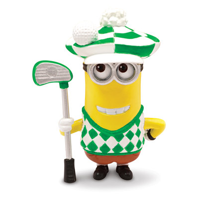 Despicable Me 2 - Action Figure - Minion Golfer