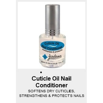 Jordana Cosmetics Corporation Cuticle Oil Nail Conditioner .5 fl oz