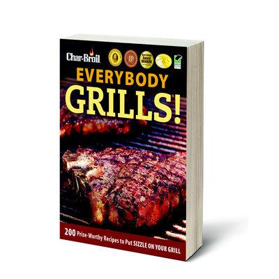 W.c. Bradley Enterprises Char-Broil Everybody Grills Cookbook Black