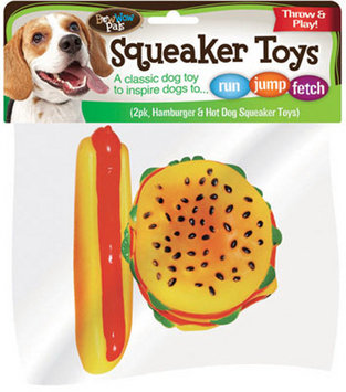 Twenty-first Century Nutritional Hamburger And Hot Dog Toy