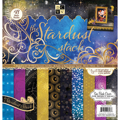 Diecuts With A View Stardust Paper Stack