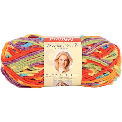 Sierra Accessories Deborah Norville Cuddle Fleece Stripes Yarn Circus