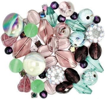Jesse James 489403 Design Elements Beads 40 Grams-African Violet