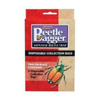 Bonide Products, Inc. Bonide Products 917494 Beetle Bagger Disposable Collection Bags Pack - 6