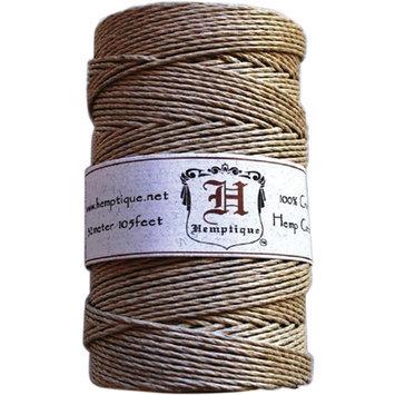 Hemptique Hemp Cord Spool 48 lb, 205 Ft/pkg, Natural
