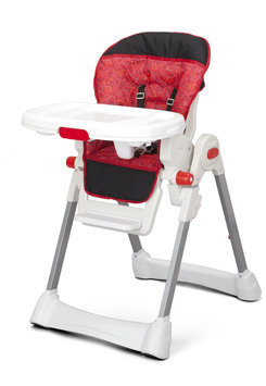 Delta LX High Chair Red Circles - DELTA ENTERPRISE CORP.