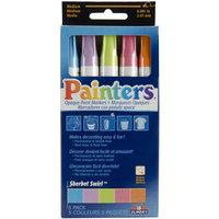 Elmers-X-Acto OPM-7524 Painters Opaque Paint Markers 5-Pkg - Sherbet Swirl