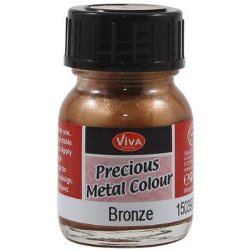 Viva Decor Precious Metal Color 25ml/Pkg-Bronze