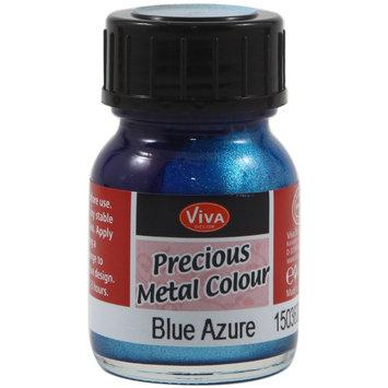 Viva Decor Precious Metal Color 25ml/Pkg-Blue Azure