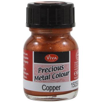 Viva Decor Precious Metal Color 25ml/Pkg-Copper
