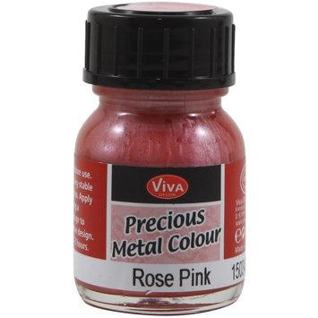 Viva Decor Precious Metal Color 25ml/Pkg-Rose Pink