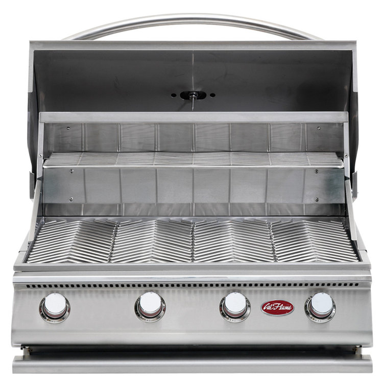 Cal Flame Gourmet Series 4-Burner Stainless Steel Built-In Gas Grill