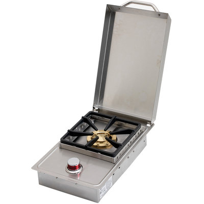 Cal Flame Low Profile Built-In Side Burner For Outdoor Grill Island