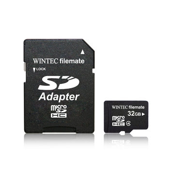 Wintec FileMate 32GB microSDHC Flash Card