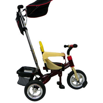 Hollandia Deluxe Stroller/Tricycle Red 10 in.