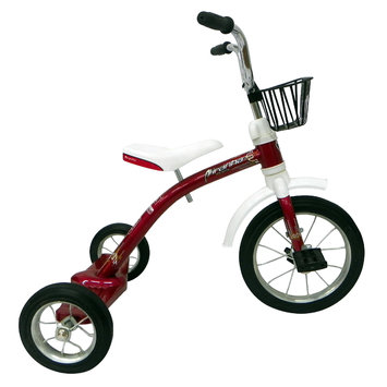 Cycle Source Group, Llc 12-inch Piranha Red Firefly Classic Spoke Trike