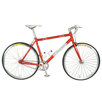 Tour De France Stage One Vintage Red Bike Red/White 56cm
