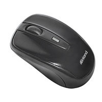 inland 07442 Black RF Wireless Optical Mouse