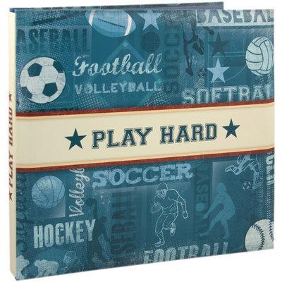 Karen Foster Sports Postbound 12x12 Scrapbook Album