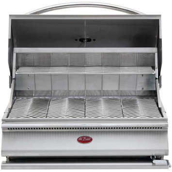 Cal Flame Gourmet Series Charcoal Grill With Height Adjustable Coal Tray
