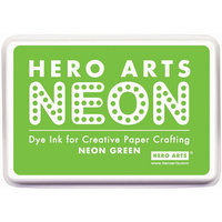 hero arts Hero Arts Neon Ink Pad Green