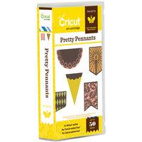 Provo Craft Cricut Project Shape Cartridge Pretty Pennants
