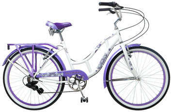 Schwinn 24in Riverside Girl's Cruiser Bike - PACIFIC CYCLE, LLC