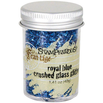 Stampendous Inc Stampendous Glass Glitter 1 Ounce Royal Blue