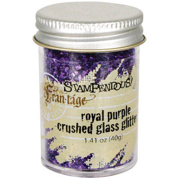 Stampendous Inc Stampendous Glass Glitter 1 Ounce Royal Purple
