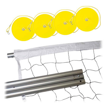 Franklin Sports Steel Volleyball Net and Post Set